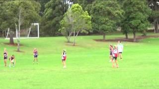 Touch Football Redlands Girls U10 Swans Junior Cup 2014 Final