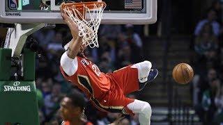 Anthony Davis 45 Points vs Celtics! RIP Jo Jo White, Pelicans vs Celtics 2017-18 Season