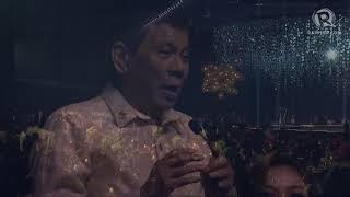 WATCH: Duterte sings