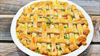 How to make Amazing Chicken Pot Pie - Perfect chicken pot pie recipe