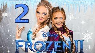 FROZEN 2! *HILARIOUS*  (Elsa & Anna meet Belle & Cinderella)