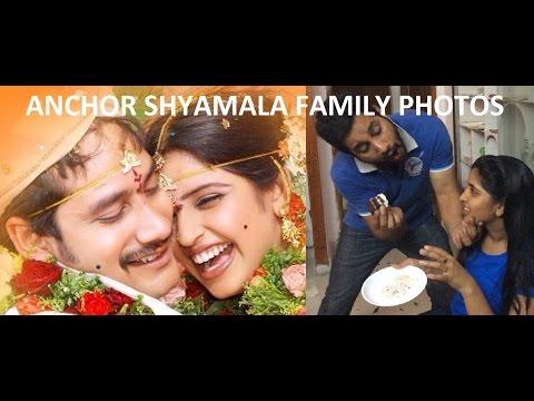 Telugu TV Anchor Shyamala Family Photos