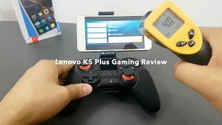 Lenovo Vibe K5 Plus Gaming Review ( Feat. Real Cricket 16) -  Shot with S7 Edge
