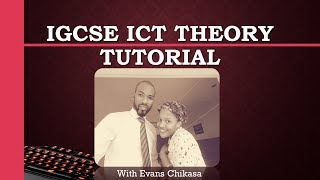 IGCSE ICT February March 2017 Paper 12 Theory Part 1