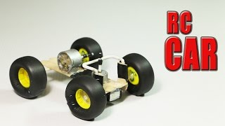 How To Make A Simple RC Car That Goes In All Directions