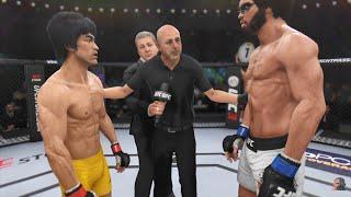 Bruce Lee Vs Hakim Mantis GAME OF DEATH 2K18   EA Sports UFC 3