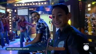 Dupla Carlos e Jader agitam o Domingo Show com Uma Pegada Que Desgrama