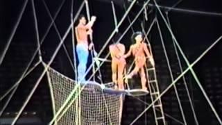 The Flying Espanas, The Original Troupe, Ramon (Monchi), Gladis and Carolina Espana.