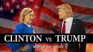 Trump vs Clinton Dance Battle - Behind the Scenes