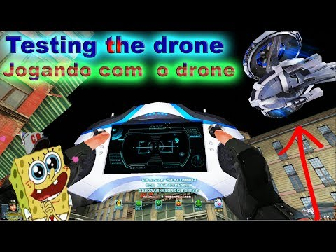 Blood Strike  : Jogando / Testando o Drone : explain the drone : BS Chinese