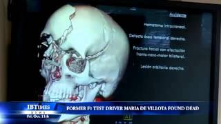 Former F1 Test Driver Maria De Villota Found Dead