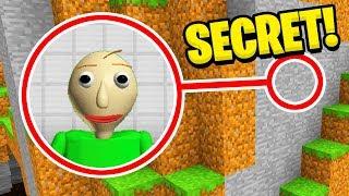Minecraft : I FOUND BALDIS SECRET BASE! (Ps3/Xbox360/PS4/XboxOne/PE/MCPE)