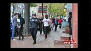 Urban Evolution's Ninja Flash Mob in Old Town Alexandria - Halloween 2012