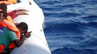 Le drame d'un bateau de migrants raconté par un jeune rescapé Sénégalais