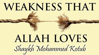 Weakness That Allah Loves | Shaykh Mohamad Kotub | HEROES HANGOUT