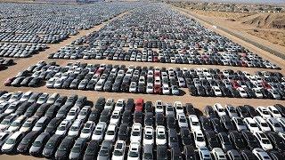 ¡MILLONES DE AUTOS SE ESTÁN PUDRIENDO AL AIRE LIBRE!