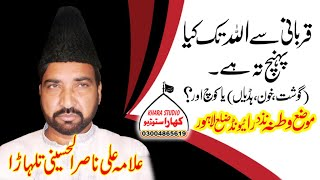 Allama Ali Nasir Talhara 14 August 2018 Watna Raiwevnd Lahore Jori Ameer Muslam (a.s)