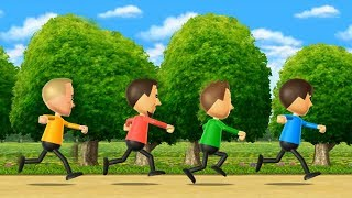Wii Party - Walk-Off Minigames Advanced Difficult  Cartoons Mee