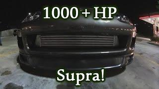 1000hp Supra Vs. S1000rr Vs. ZX10r Vs. Hayabusa