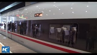 China's new bullet trains launched on Beijing-Shanghai high-speed rail