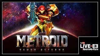 METROID: Samus Returns! Live Gameplay Demo & Details - YouTube Live at E3