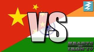 China Vs India Ep14 - Hearts of Iron 4 (HOI4)