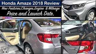 New Amaze 2018 Interior,Features,Price,Launch Date | Amaze 2018 Features and Review
