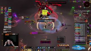 Nihilum vs Mythic Xavius - Fire Mage PoV