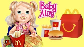 BABY ALIVE Snackin