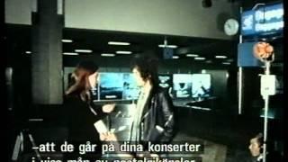 BOB DYLAN Get Pissed On Swedish Tv Reporter  1978
