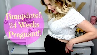 Bumpdate!! 24 Weeks Pregnant!!