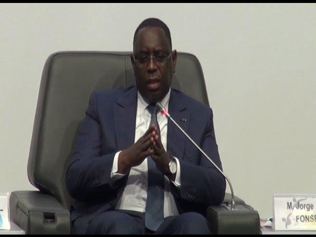 Le Président Macky Sall au Forum Paix et Sécurité de Dakar
