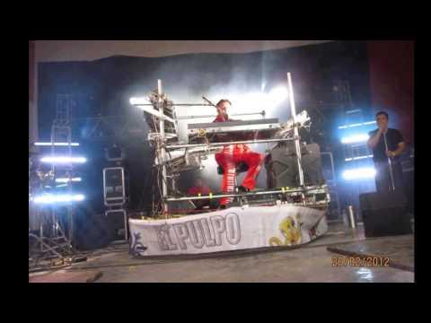 REVENTON TROPICAL Con EL PULPO ALFREDO Y SUS TECLADOS Rogmeld 2012 Vive la Música