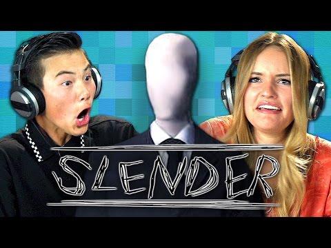 SLENDER Teens React Gaming