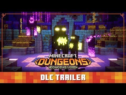 Minecraft Dungeons Echoing Void – Official Launch Trailer