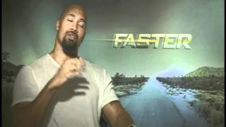 ñ Life with Melissa Hernandez interviews Dwayne Johnson about Faster