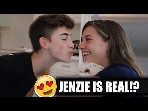 JENZIE IS REAL!!! Johnny Tries To KISS Mackenzie!!