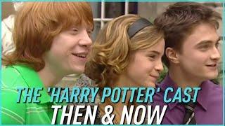 The HARRY POTTER Cast Then & Now