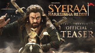 Sye Raa Narasimha Reddy Teaser | Chiranjeevi | Ram Charan | Surender Reddy | Konidela Production