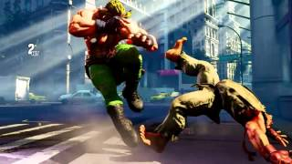 STREET FIGHTER V OFFICIAL CAPCPOM ALEX TRAILER (fan made)
