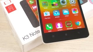 Lenovo K3 Note - Unboxing & First Impressions!