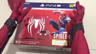 Spiderman Homecoming UNBOXING Limited edition Marvel