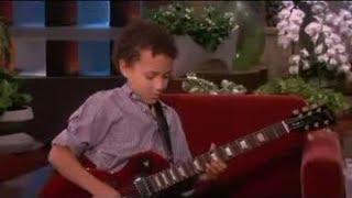 Child Guitar Prodigy! on Ellen Show