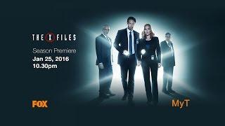 Season Premiere #XFiles2016 Jan 25, 10.30pm on Fox