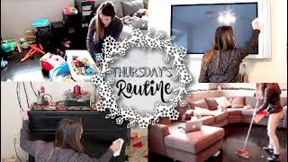 Clean With Me! Thursday's Cleaning Routine!