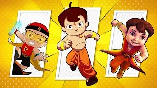 Green Gold - Asli Super Heroes | Chhota Bheem, Mighty Raju, Super Bheem Action compilation