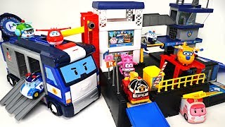 Robocar Poli and Super Wings have a NEW mobile and rescue headquarters! - DuDuPopTOY