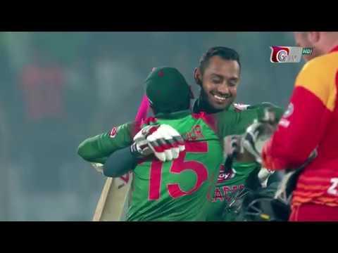 Xxx Mp4 Bangladesh Vs Zimbabwe Highlights 3rd ODI 2nd Innings Zimbabwe Tour Of Bangladesh 2018 3gp Sex