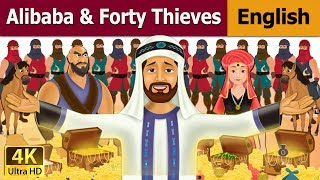 Alibaba and 40 Thieves in English - Fairy Tales - Bedtime Stories - 4K UHD - English Fairy Tales