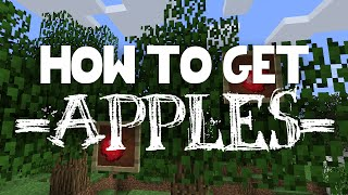 MINECRAFT: HOW TO GET APPLES!